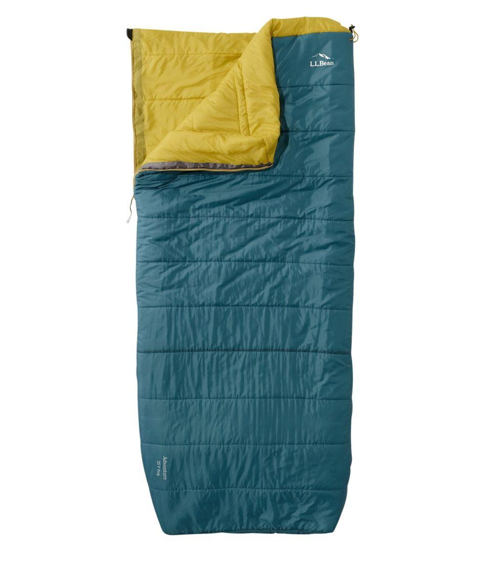 Adventure Sleeping Bag, Rectangular 25°