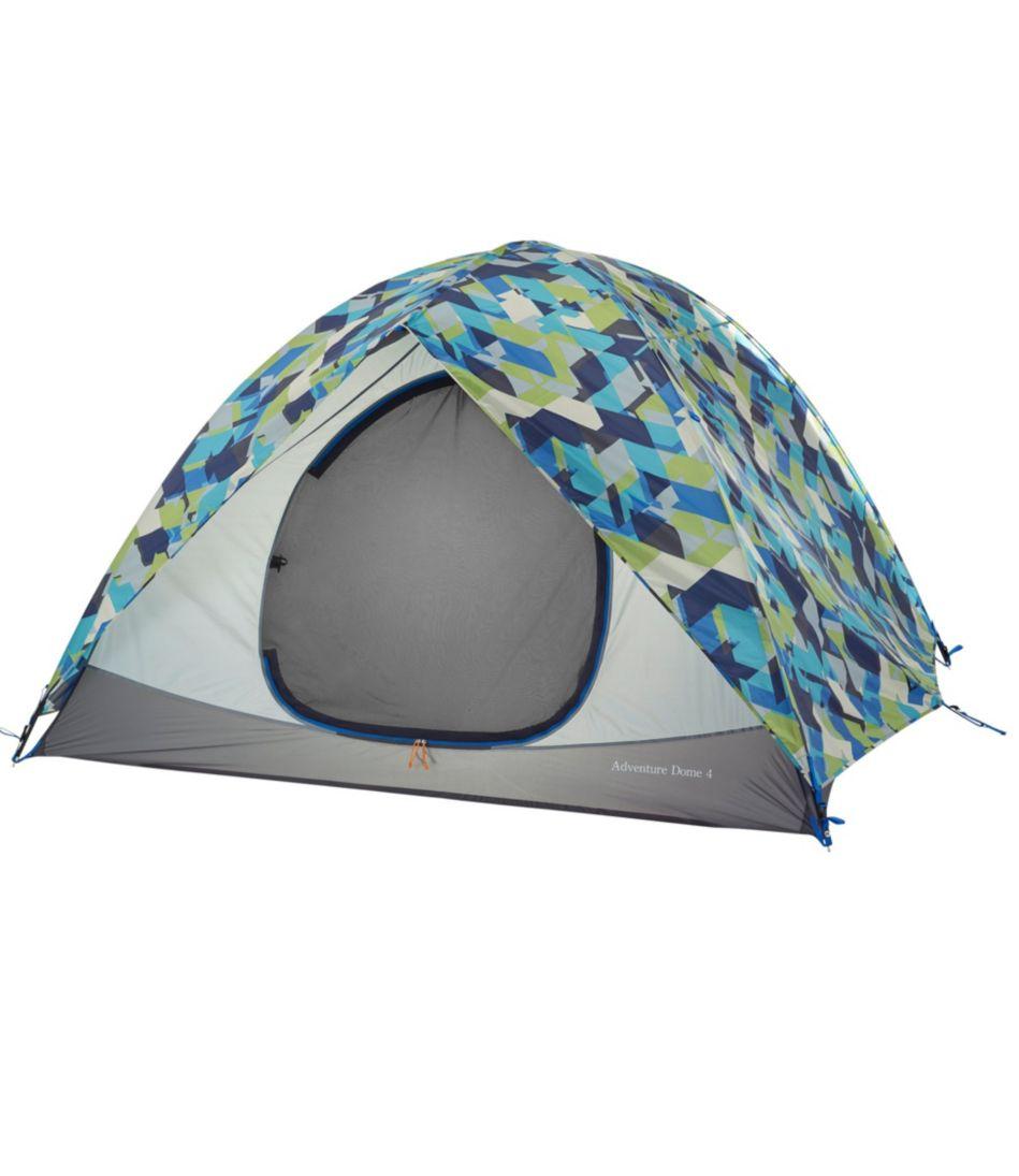 Adventure Dome 4-Person Tent, Print