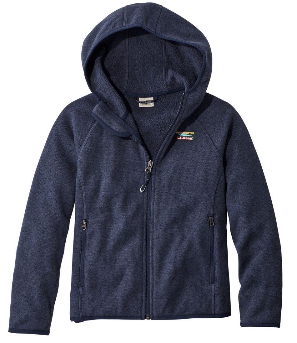 Kids' L.L.Bean Sweater Fleece, Hooded