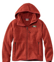 Kids' L.L.Bean Sweater Fleece, Hooded