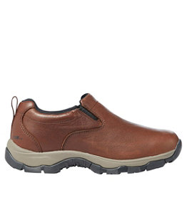 Women's Insulated Waterproof Comfort Mocs with Arctic Grip, Leather