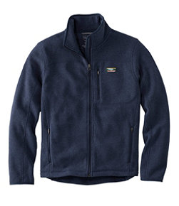 L.L.Bean Sweater Fleece Full-Zip Jacket