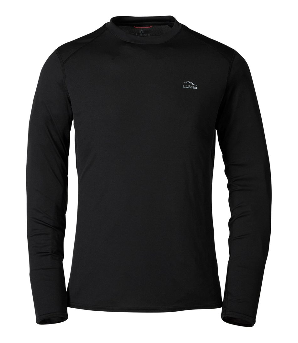 Men's L.L.Bean Lightweight Crew Base Layer, Long Sleeve