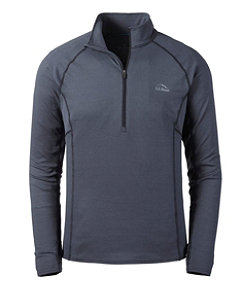 Men's L.L.Bean Midweight Base Layer, 1/4 Zip
