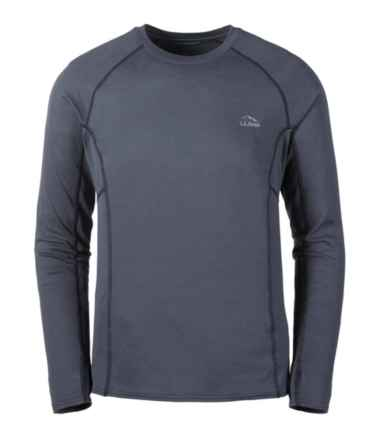 Men's L.L.Bean Midweight Base Layer Crew, Long Sleeve