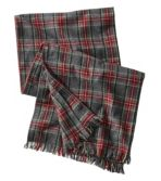 Adults' Scotch Plaid Flannel Scarf