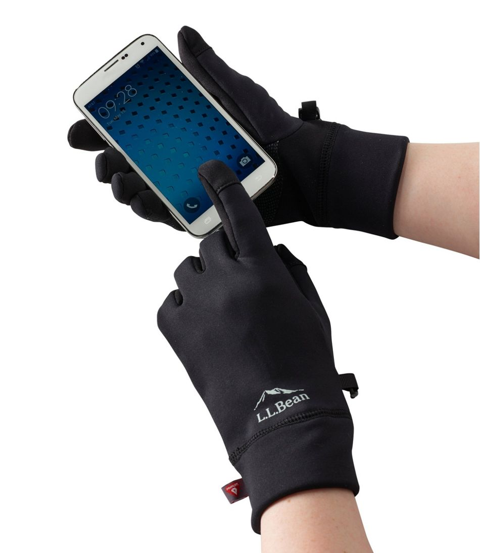 Men's Primaloft Therma-Stretch Fleece Gloves