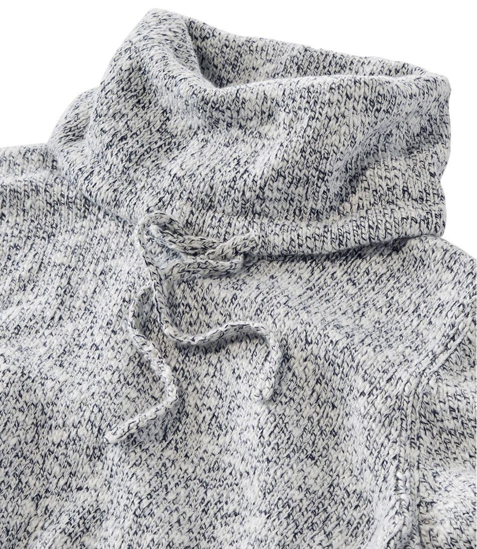 Cotton Ragg Sweater, Cowl Pullover