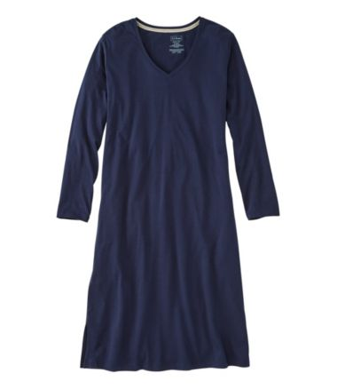Organic Supersoft Shrink-Free Nightgown