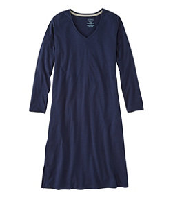 Women's Organic Supersoft Shrink-Free Nightgown