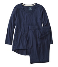 Organic Supersoft Shrink-Free Pajama Set