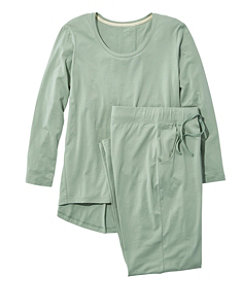 Women's Organic Supersoft Shrink-Free Pajama Set