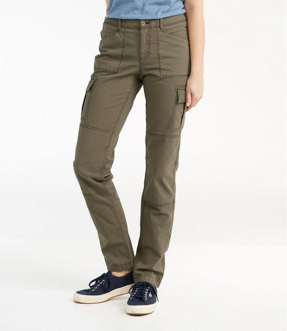 Women S Stretch Canvas Cargo Pants