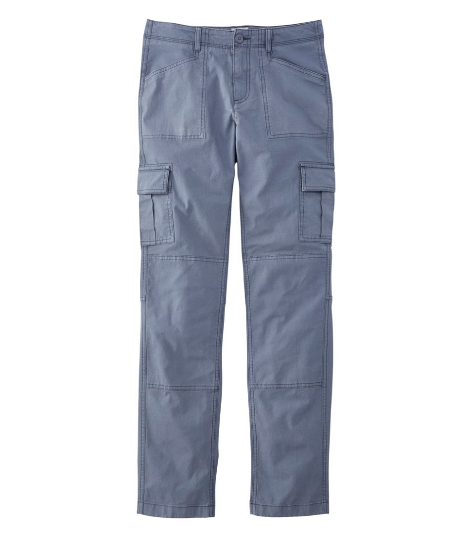 Stretch Canvas Cargo Pants