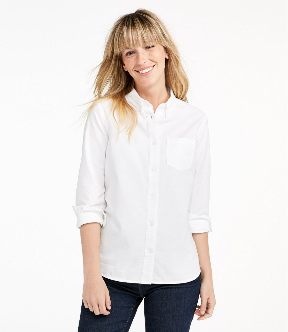bd8a5643a65f4 Women s Lakewashed® Organic Cotton Oxford Shirt