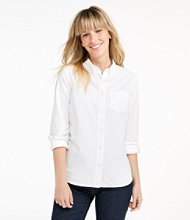 Lakewashed Organic Cotton Oxford Shirt