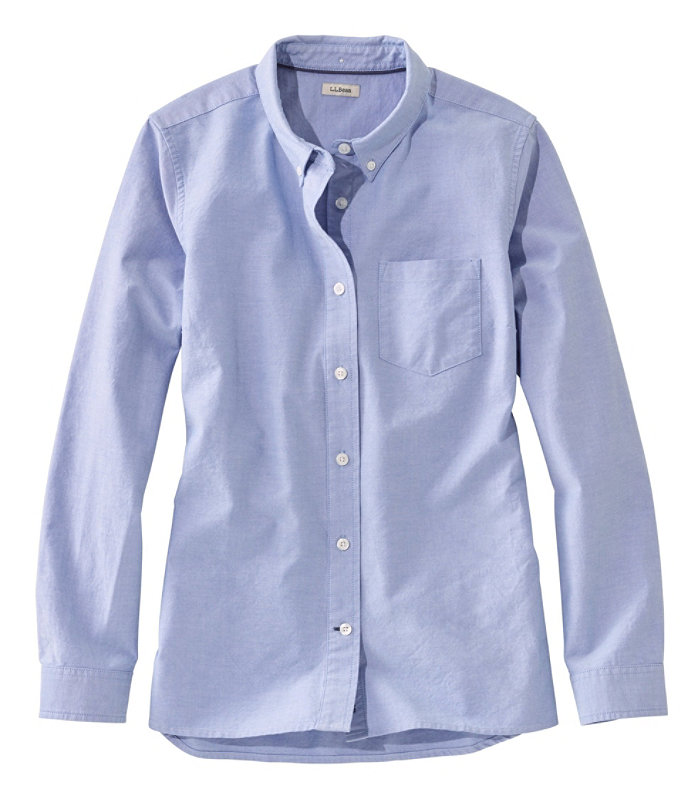 f5a3caeac7c37 Women s Lakewashed Organic Cotton Oxford Shirt
