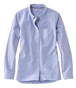 Women's Lakewashed® Organic Cotton Oxford Shirt