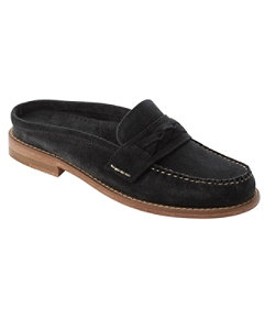 Women's Signature Handsewn Slip-On Suede Loafers