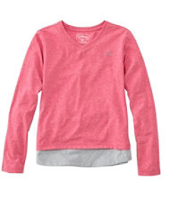 Girls' Pathfinder Tee, Long-Sleeve