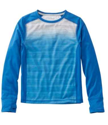 Boys' Active Performance Tee, Long-Sleeve