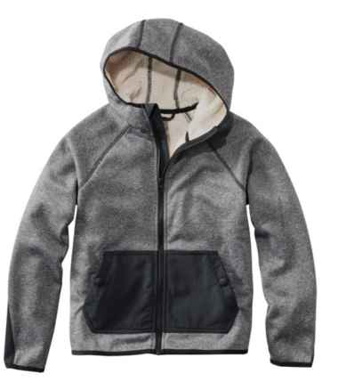 Kids' Adventure Water-Resistant Hoodie, Colorblock