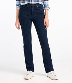 Women's Super Stretch Slimming Jeans, Classic Fit Straight-Leg