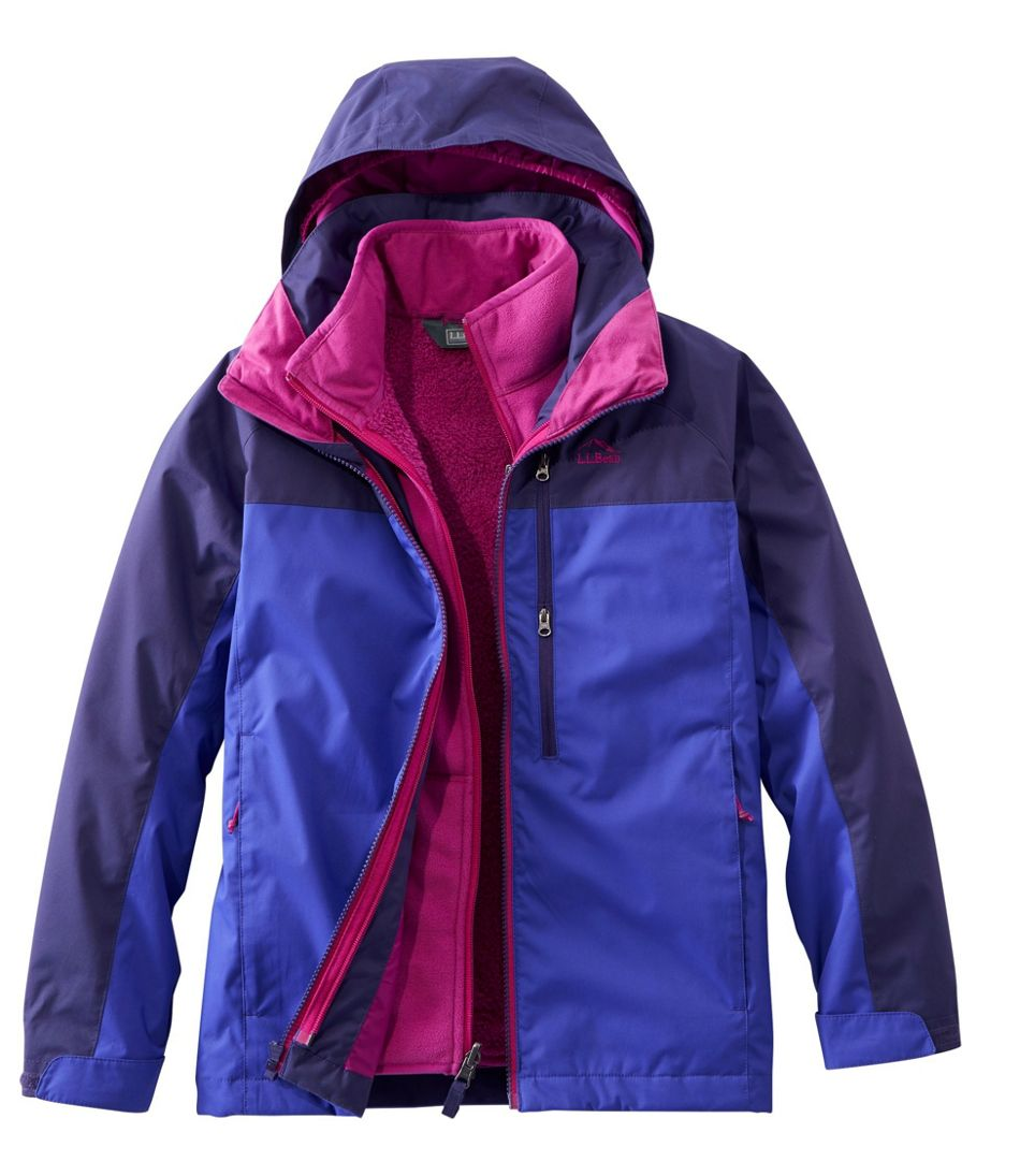 Kids' Adventure Seeker 3-in-1 Parka, Colorblock