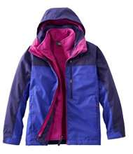 Kids' Adventure Seeker 3-in-1 Parka, Color Block
