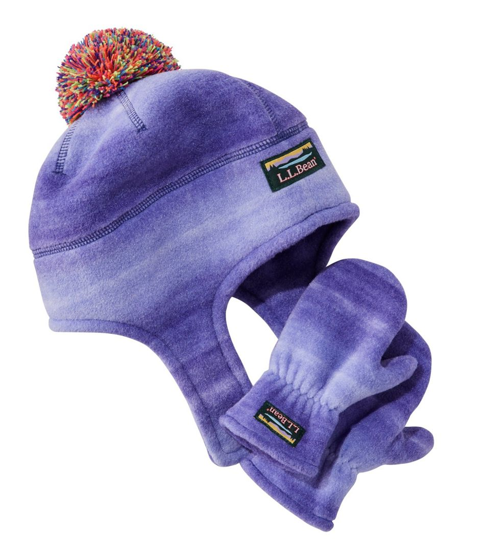 Toddlers' Mountain Classic Hat and Mitten Set, Print
