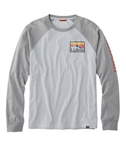 Men's Bean's Performance Graphic Tee, Long-Sleeve