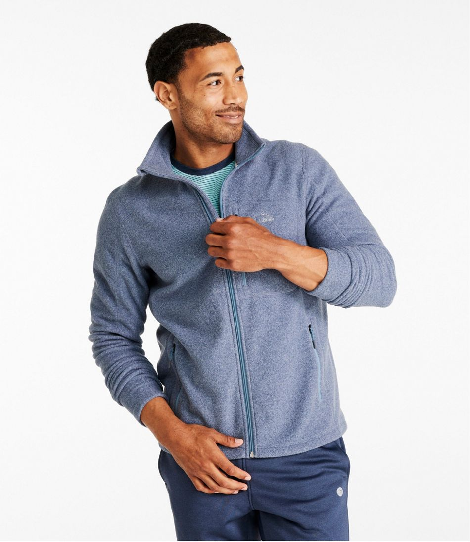 Men's Trail Fitness Fleece, Full-Zip