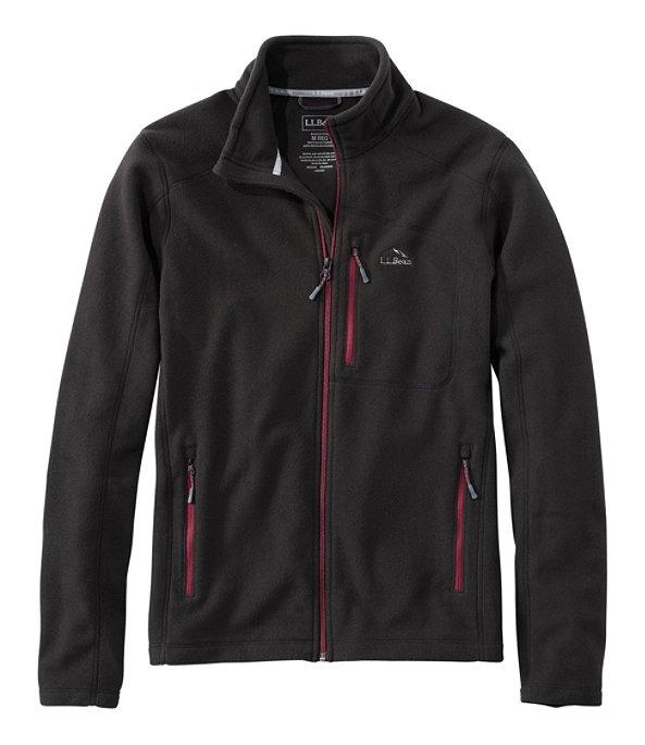 Trail Fleece Jacket Full-Zip, Classic Black/Burgundy, large image number 0