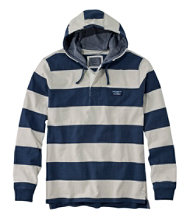 Lakewashed Rugby, Traditional Fit Long-Sleeve Hoodie Stripe