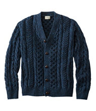Heritage Sweater, Irish Fisherman's Cardigan