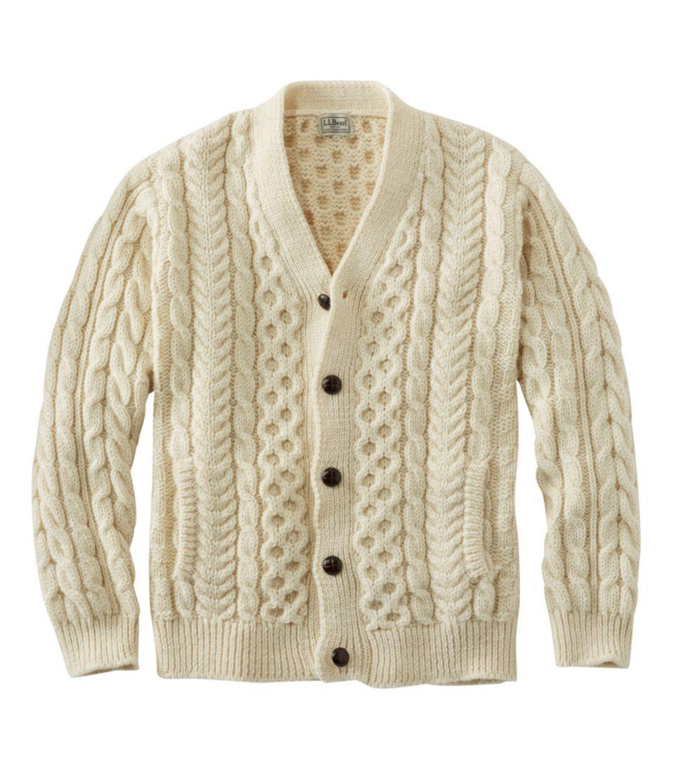 Heritage Sweater, Irish Fisherman's Cardigan