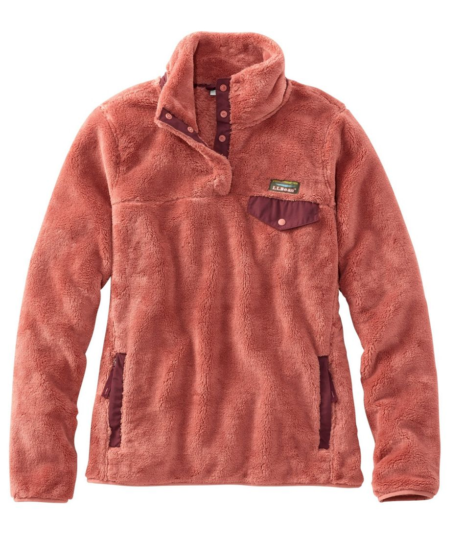 Women's L.L.Bean Hi-Pile Fleece Pullover