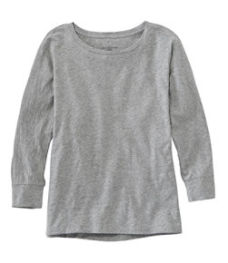 Women's Signature Essential Knit Tee, Dolman Sleeve