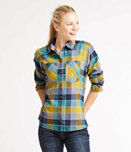 Women's Soft Stretch Performance Flannel, Plaid