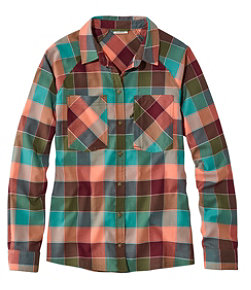 Soft Stretch Performance Flannel, Plaid