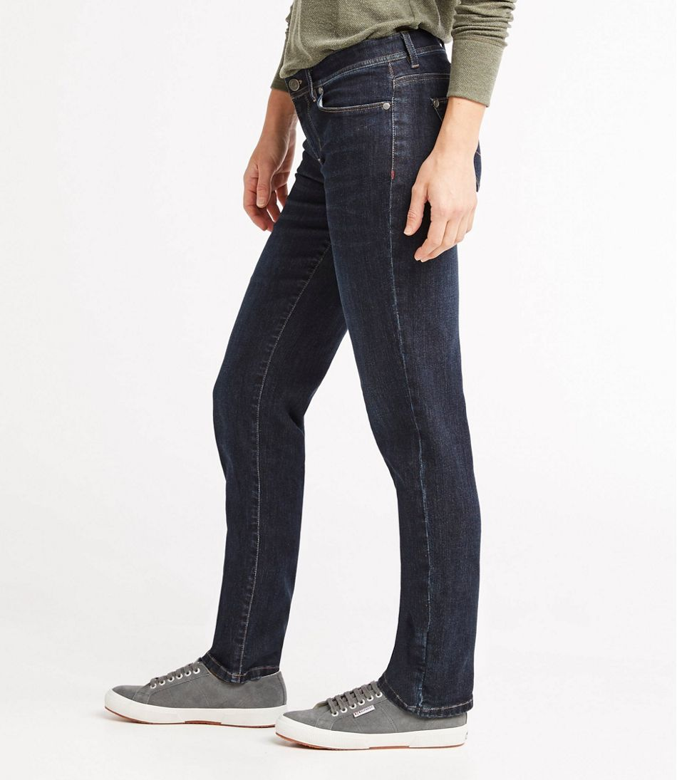 11cf86bf ... L.L.Bean Performance Stretch Jeans, Straight Leg ...