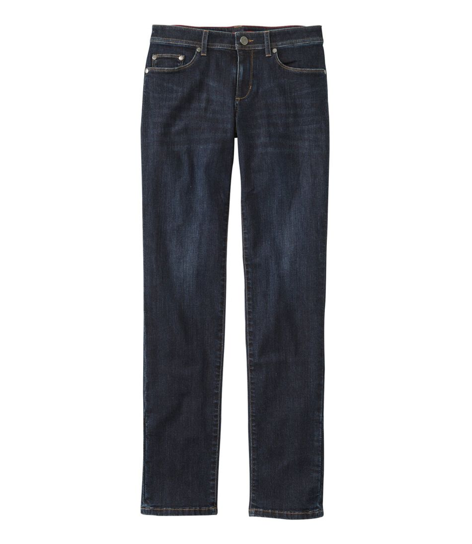 L.L.Bean Performance Stretch Jeans, Straight Leg