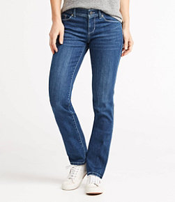 Women's L.L.Bean Performance Stretch Jeans, Straight Leg