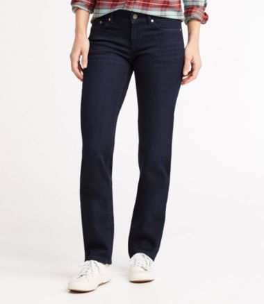 Bean's Performance Stretch Jeans, Straight Leg