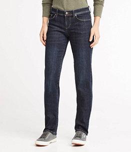 Women's L.L.Bean Performance Stretch Jeans, Straight Leg