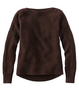 Women's Signature Washable Merino Boatneck Sweater