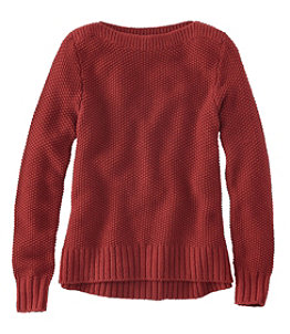 Women's Signature Washable Merino Boatneck Sweater