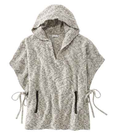 Signature Cotton/Linen Ragg Poncho