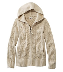 Signature Cotton Zip-Front Cardigan