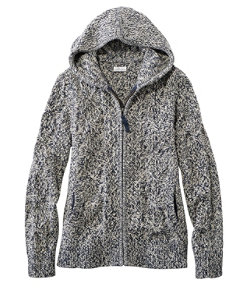 Women's Signature Cotton Zip-Front Cardigan